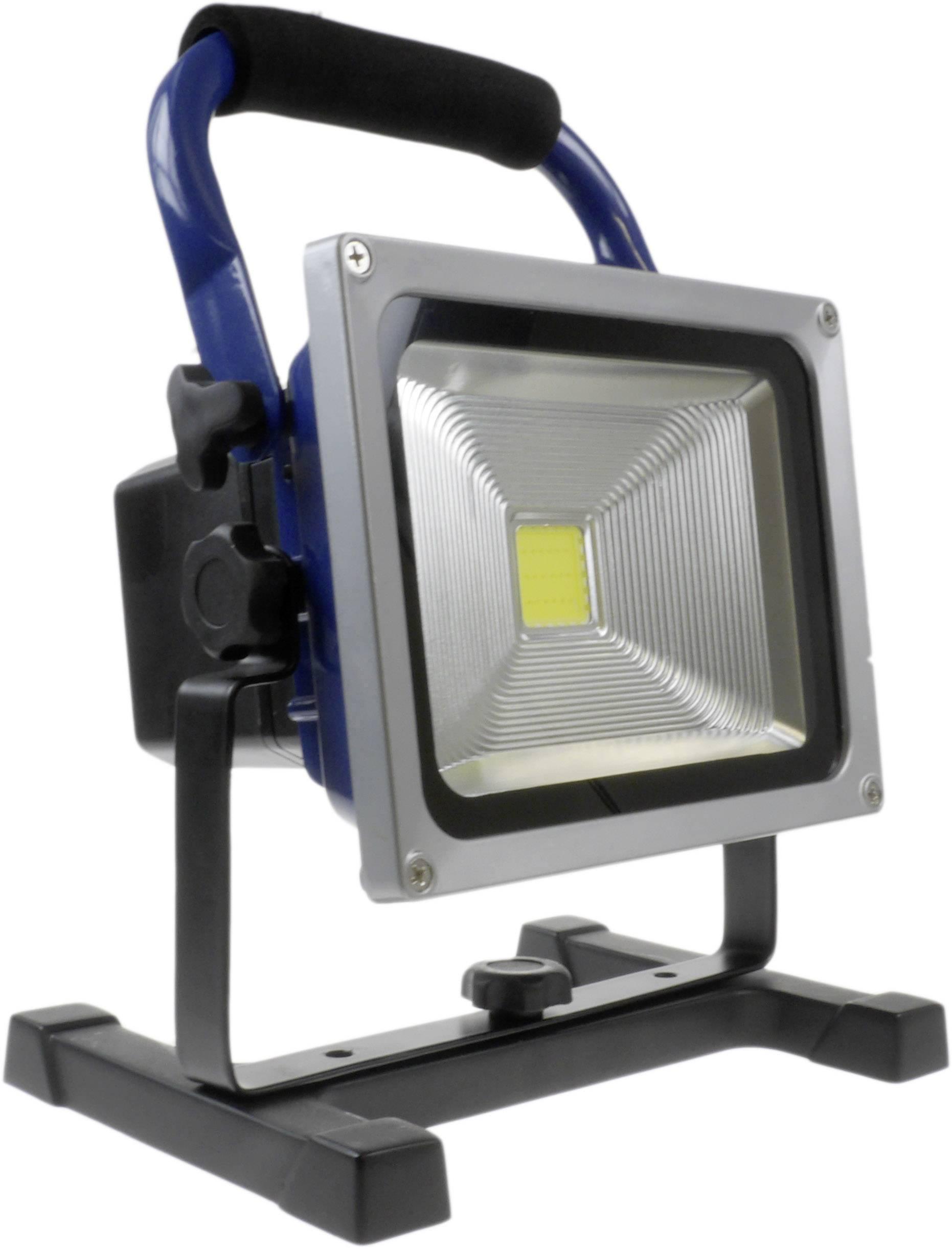 SMD LED pracovné osvetlenie napájanie z akumulátoru XCell 140966, Work 20 W, 20 W, 1600 lm