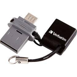 USB pamäť pre smartphone a tablet Verbatim Dual Drive, 16 GB, USB 2.0, micro USB 2.0