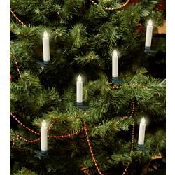 Bezdrátové osvětlení na vánoční stromeček svíčka Polarlite LBA-30-003a na baterii, 10 LED teplá bílá, 9.5 cm