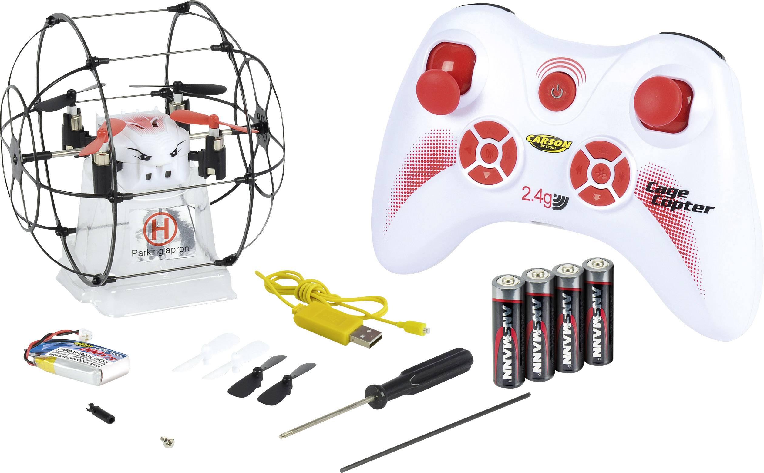 Dron Carson RC Sport X4 Cage Copter, RtF