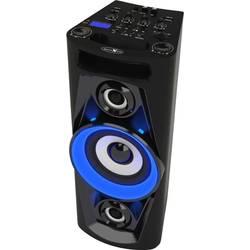 Karaoke vybavení Reflexion PS07BT, vč. karaoke, včetně mikrofonu, ambient light, s akumulátorem