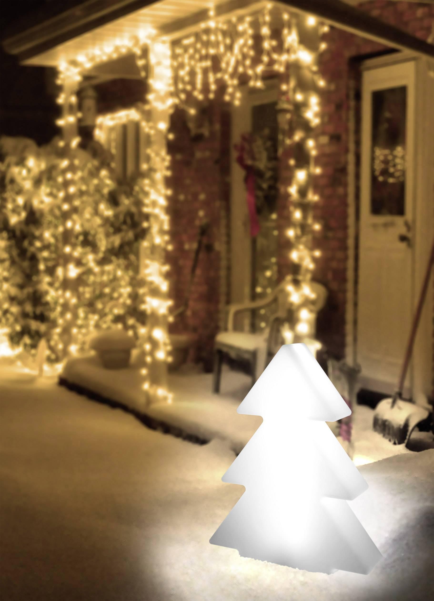 Vianočný stromček LED dekoratívne osvetlenie LED Polarlite 001460524 biela