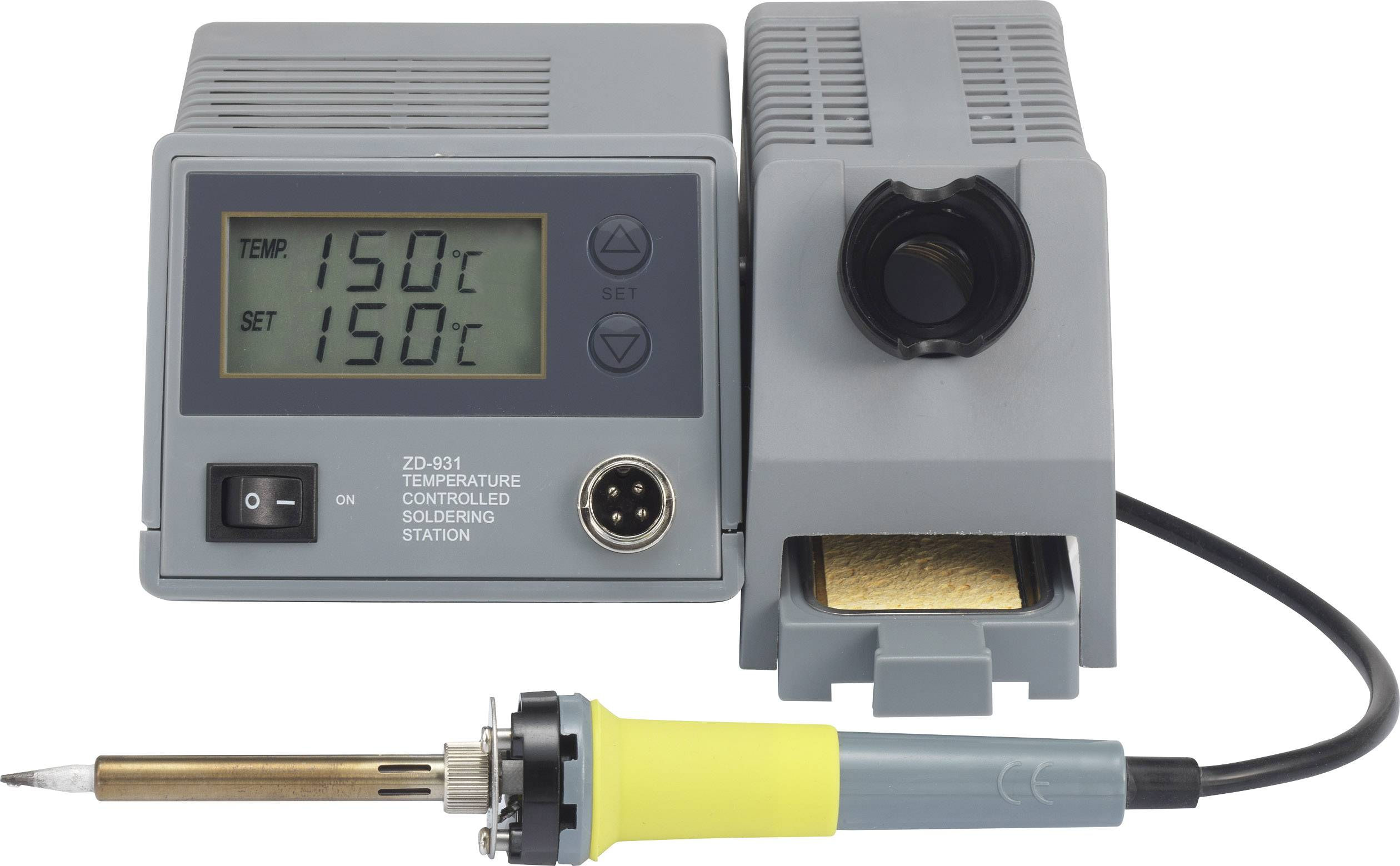Pájecí stanice Basetech ZD-931, digitální, 48 W, 150 až 450 °C