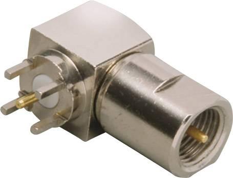 FME konektor BKL Electronic 0412063 – zástrčka, vestavná, úhlová, 50 Ohm, 1 ks