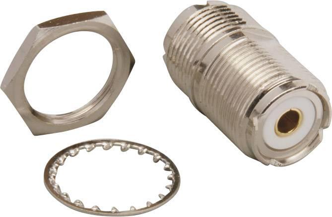 UHF adaptér UHF zásuvka - UHF zásuvka BKL Electronic 0406045, 1 ks