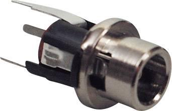 Nízkonapěťový konektor BKL Electronic 072337, zásuvka, vestavná vertikální, 5.7 mm, 2.1 mm, 1 ks