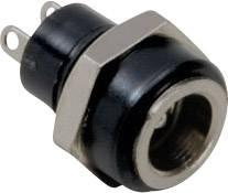 Nízkonapěťový konektor BKL Electronic 072881, zásuvka, vestavná vertikální, 5.7 mm, 2.1 mm, 1 ks