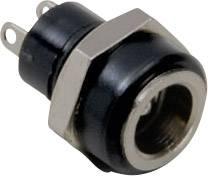 Nízkonapěťový konektor BKL Electronic 072882, zásuvka, vestavná vertikální, 5.7 mm, 2.5 mm, 1 ks