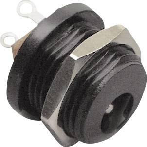 Nízkonapěťový konektor BKL Electronic 072302, zásuvka, vestavná vertikální, 5 mm, 2.1 mm, 1 ks