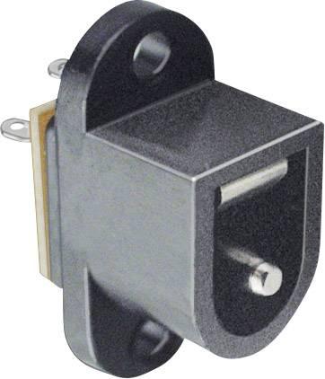 Nízkonapěťový konektor BKL Electronic 072726, přírubová zásuvka, 6.4 mm, 2.1 mm, 1 ks