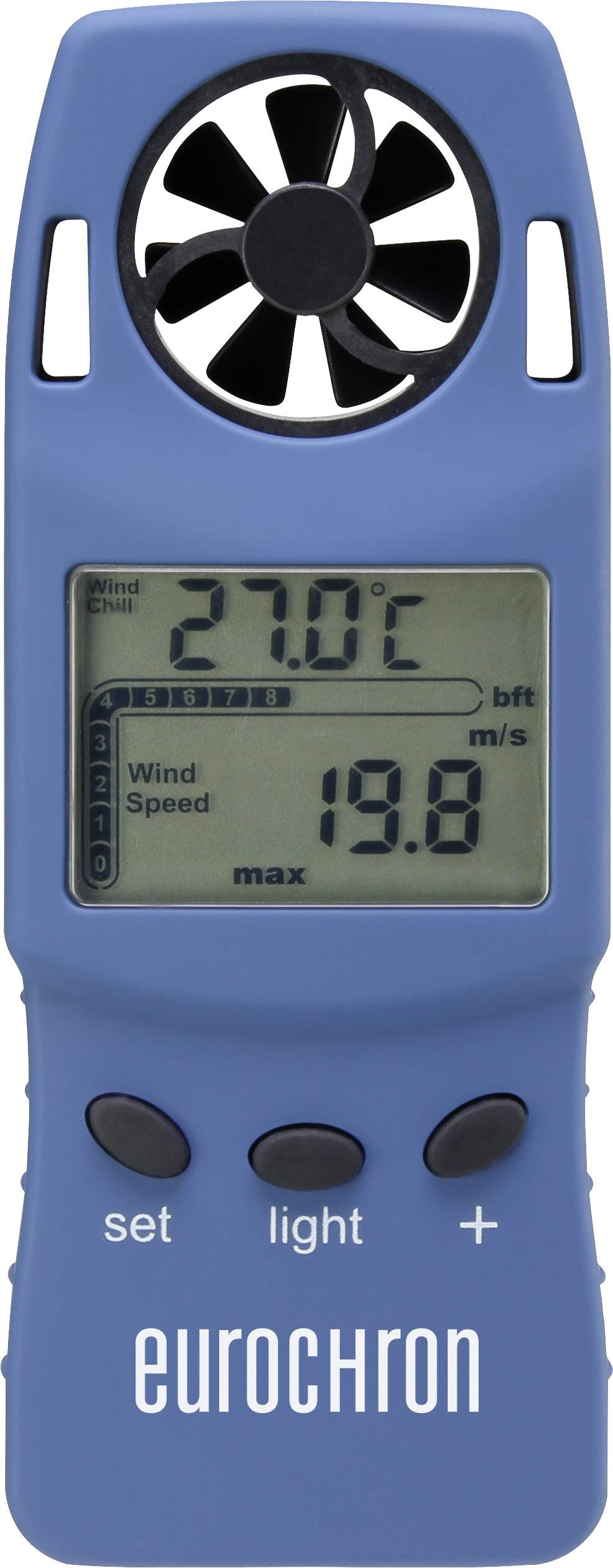 Anemometr Eurochron WS4003 0.3 až 30 m/s