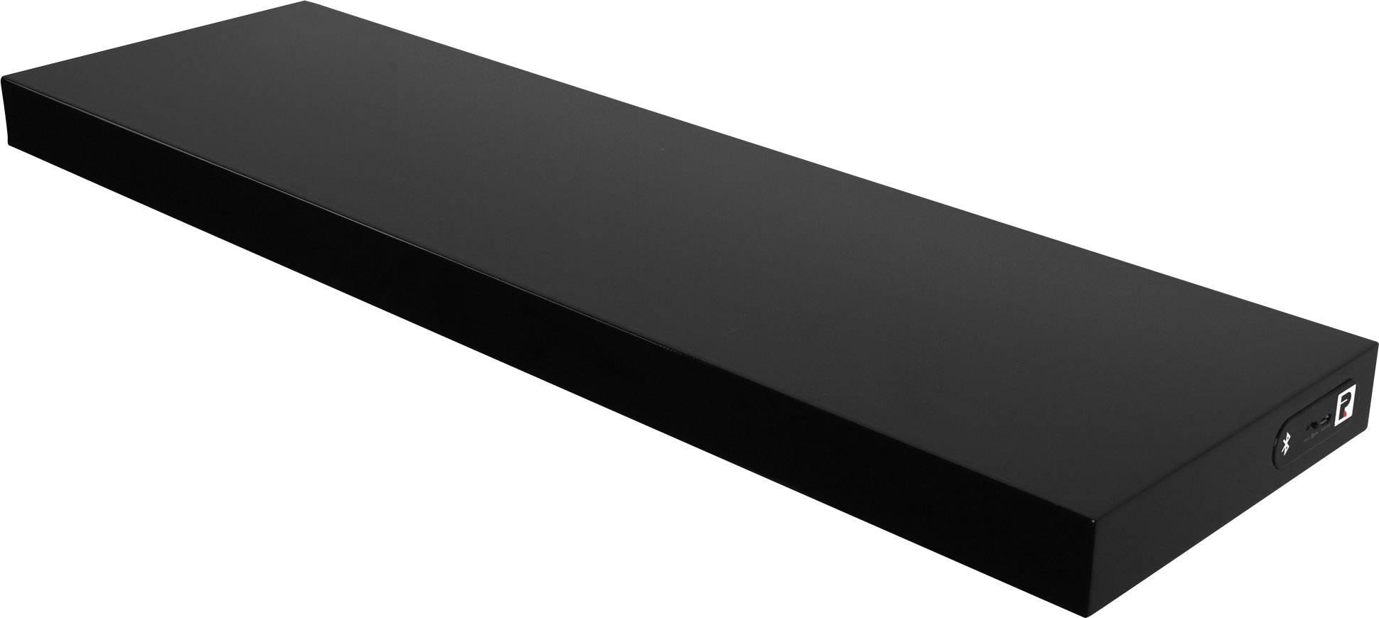 Bluetooth reproduktor jako police na zeď Duraline, černá