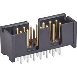 Kolíková lišta TE Connectivity 5103309-2 2.54 mm, počet pólů: 14, 1 ks