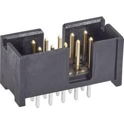 Kolíková lišta TE Connectivity 5103309-1 2.54 mm, počet pólů: 10, 1 ks
