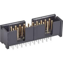 Kolíková lišta TE Connectivity 5103308-1 2.54 mm, počet pólů: 10, 1 ks