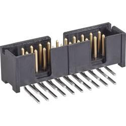 Kolíková lišta TE Connectivity 5103310-1 2.54 mm, počet pólů: 10, 1 ks