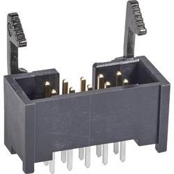 Kolíková lišta TE Connectivity 1761608-3 s krátkou blokovací páčkou, rastr (rozteč): 2.54 mm, počet pólů: 10, 1 ks