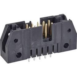 Kolíková lišta TE Connectivity 5102154-2 2.54 mm, počet pólů: 14, 1 ks