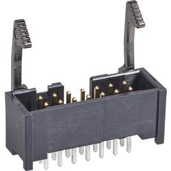Kolíková lišta TE Connectivity 1761606-5 s dlouhou blokovací páčkou, rastr (rozteč): 2.54 mm, počet pólů: 14, 1 ks