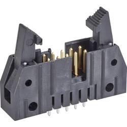 Kolíková lišta TE Connectivity 5499910-2 s krátkou vysouvací páčkou, rastr (rozteč): 2.54 mm, počet pólů: 14, 1 ks