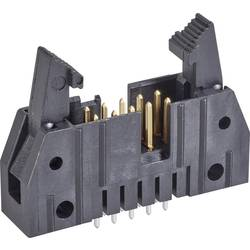 Kolíková lišta TE Connectivity 5499910-4 s krátkou vysouvací páčkou, rastr (rozteč): 2.54 mm, počet pólů: 20, 1 ks