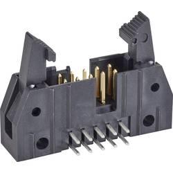 Kolíková lišta TE Connectivity 5499913-1 s krátkou vysouvací páčkou, rastr (rozteč): 2.54 mm, počet pólů: 10, 1 ks