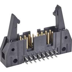 Kolíková lišta TE Connectivity 5499786-2 s dlouhou vysouvací páčkou, rastr (rozteč): 2.54 mm, počet pólů: 14, 1 ks