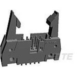 Kolíková lišta TE Connectivity 1-5102321-0 s dlouhou vysouvací páčkou, rastr (rozteč): 2.54 mm, počet pólů: 50, 1 ks