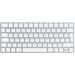 Apple Magic Keyboard (anglais) Klávesnice stříbrná, bílá lze znovu nabíjet