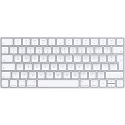 Apple Magic Keyboard Klávesnice stříbrná, bílá lze znovu nabíjet