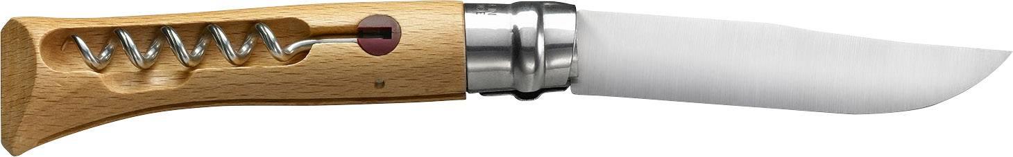 Vreckový nôž Opinel 254154, buk, chróm