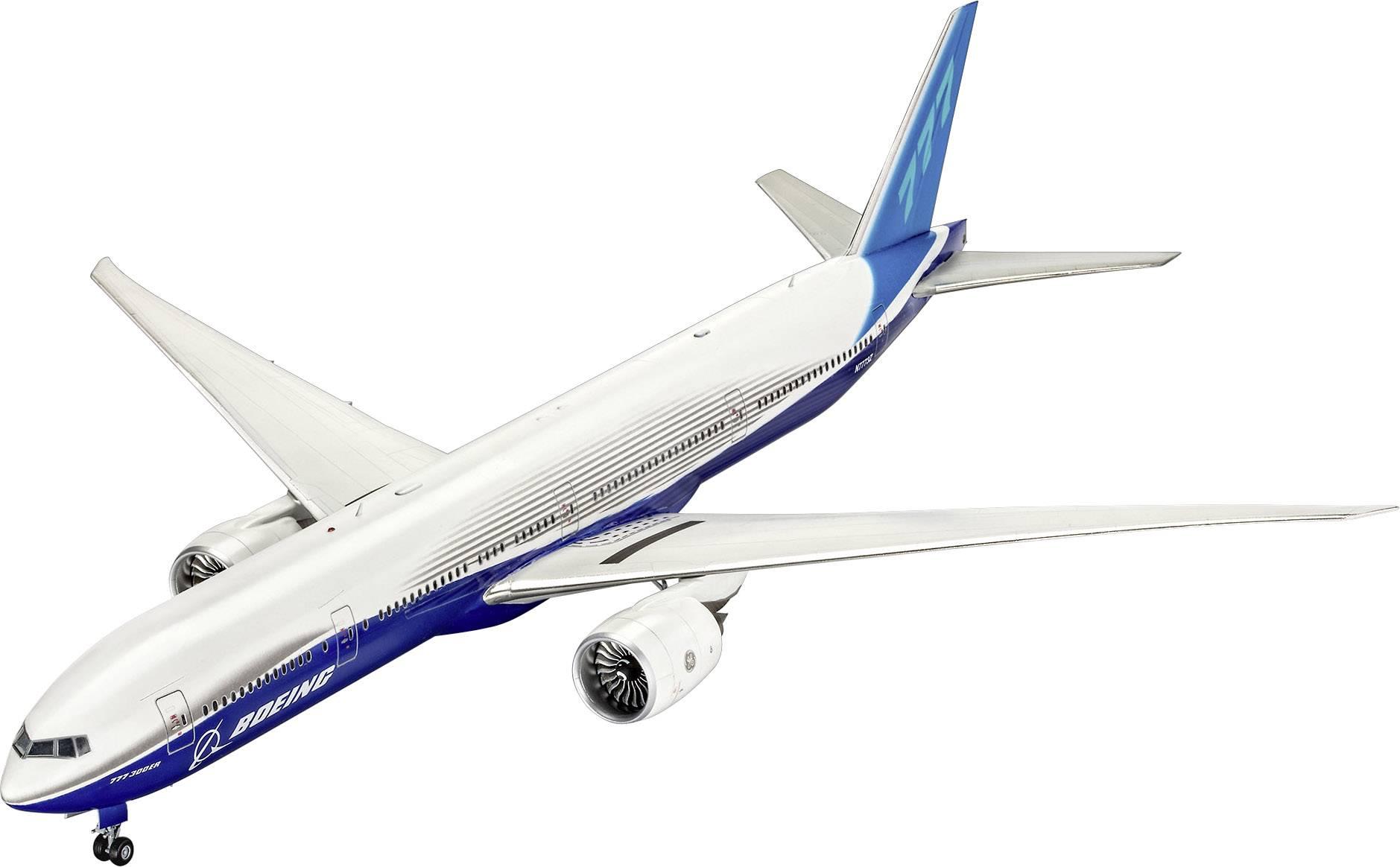 Model lietadla, stavebnica Revell Boeing 777-300ER 04945, 1:144