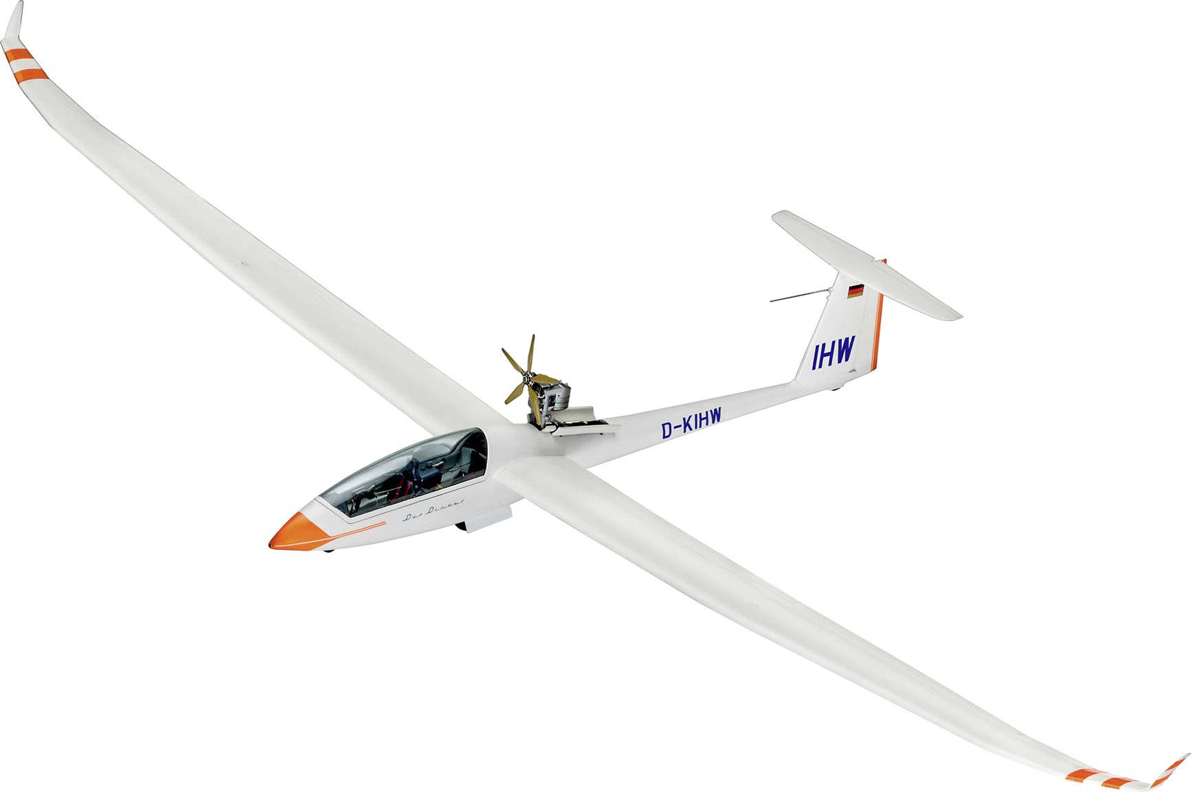 Model lietadla, stavebnica Revell Duo Discus 03961, 1:32