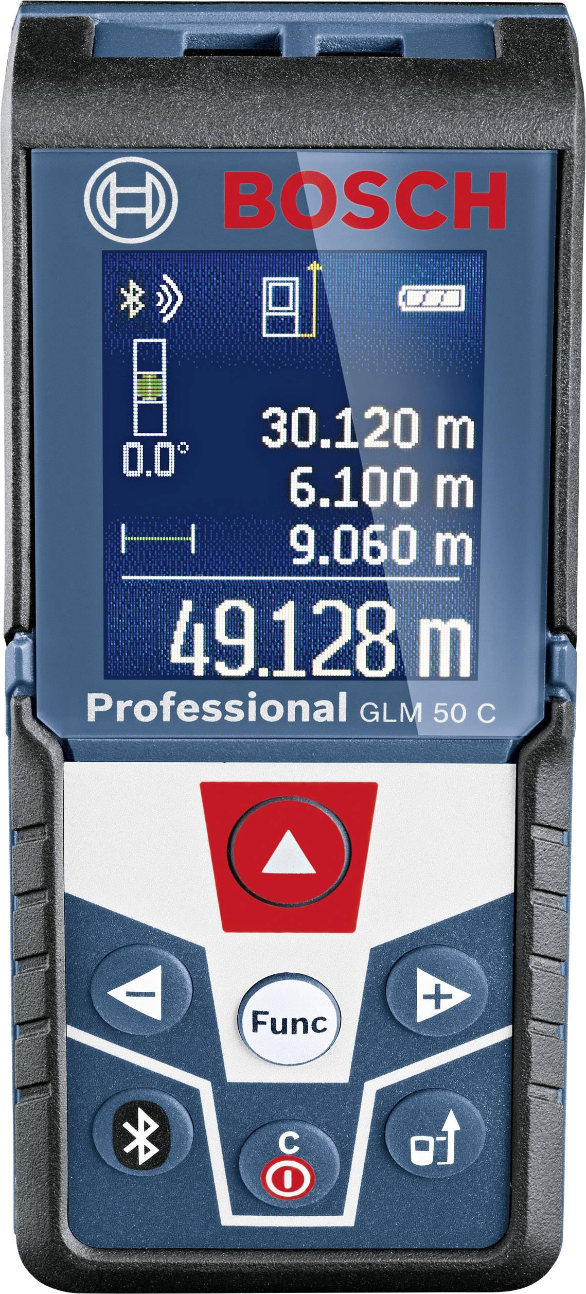 Laserový měřič vzdálenosti Bosch Professional GLM 50 C 0601072C00, max. rozsah 50 m