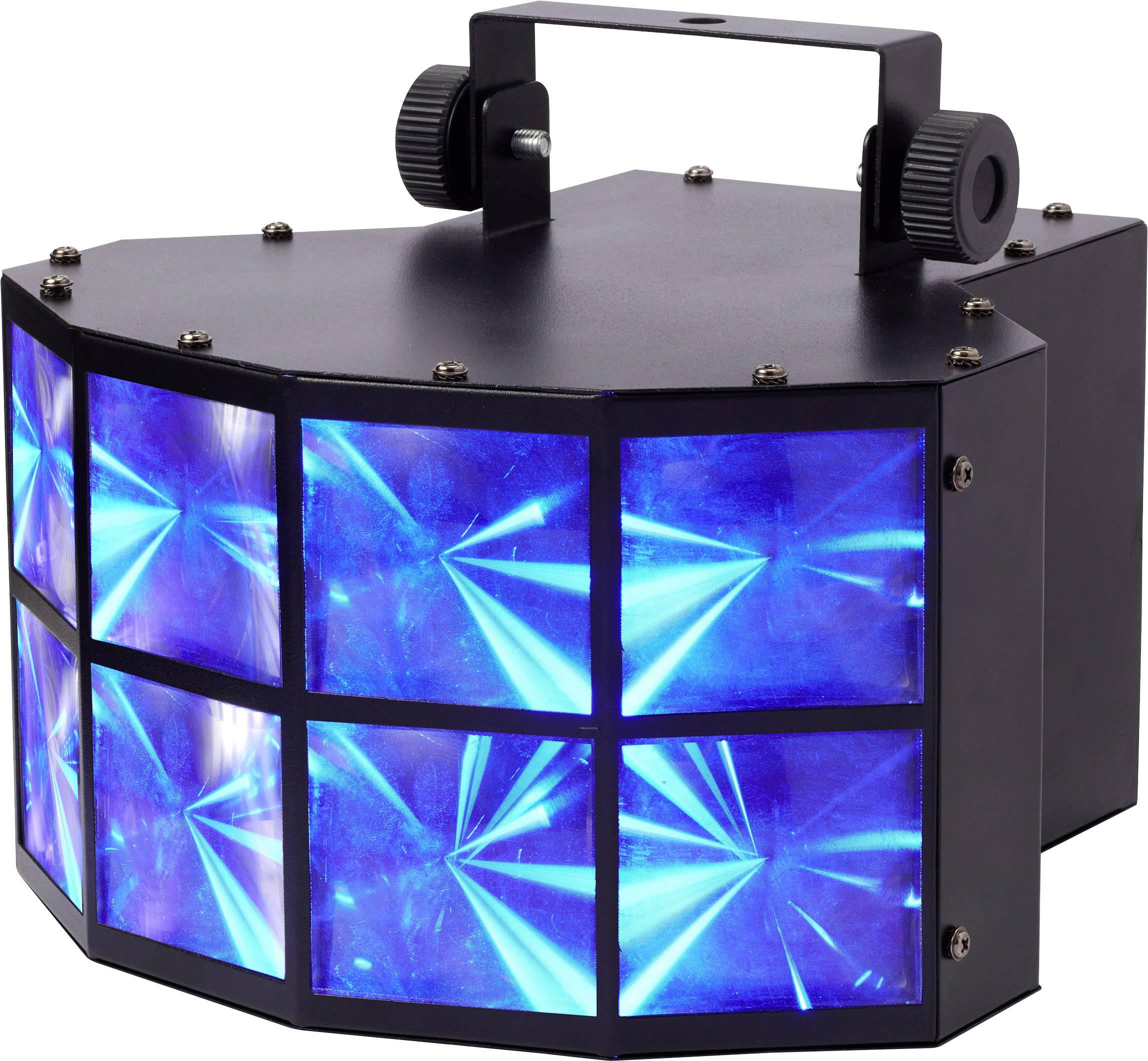 LED projekčný efektový reflektor Renkforce LV-DJ13 počet LED:4 x 8 W