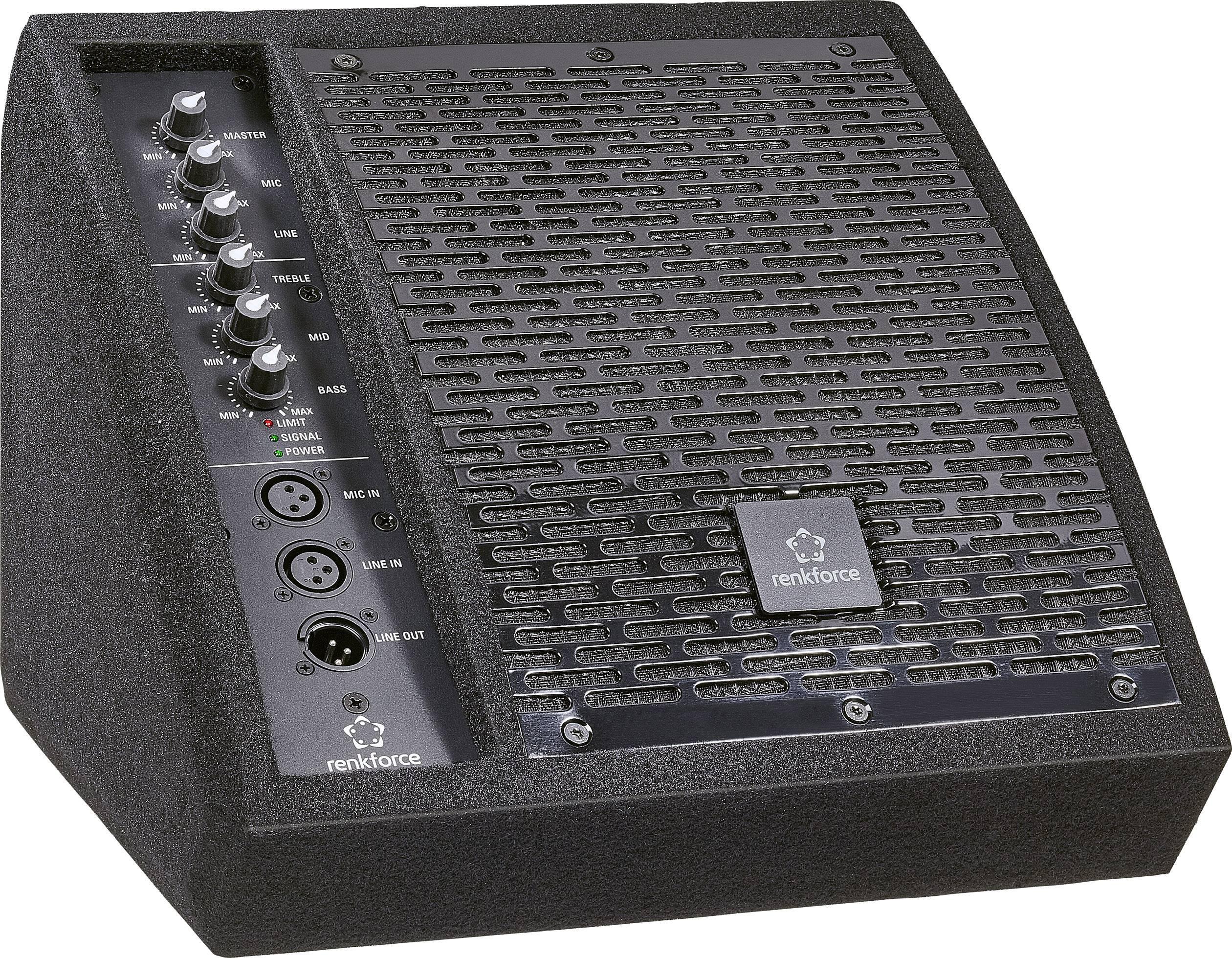 """Aktivní stage monitor Renkforce PAM 80A, 70 W, 20.32 cm (8 """") 1 ks"""