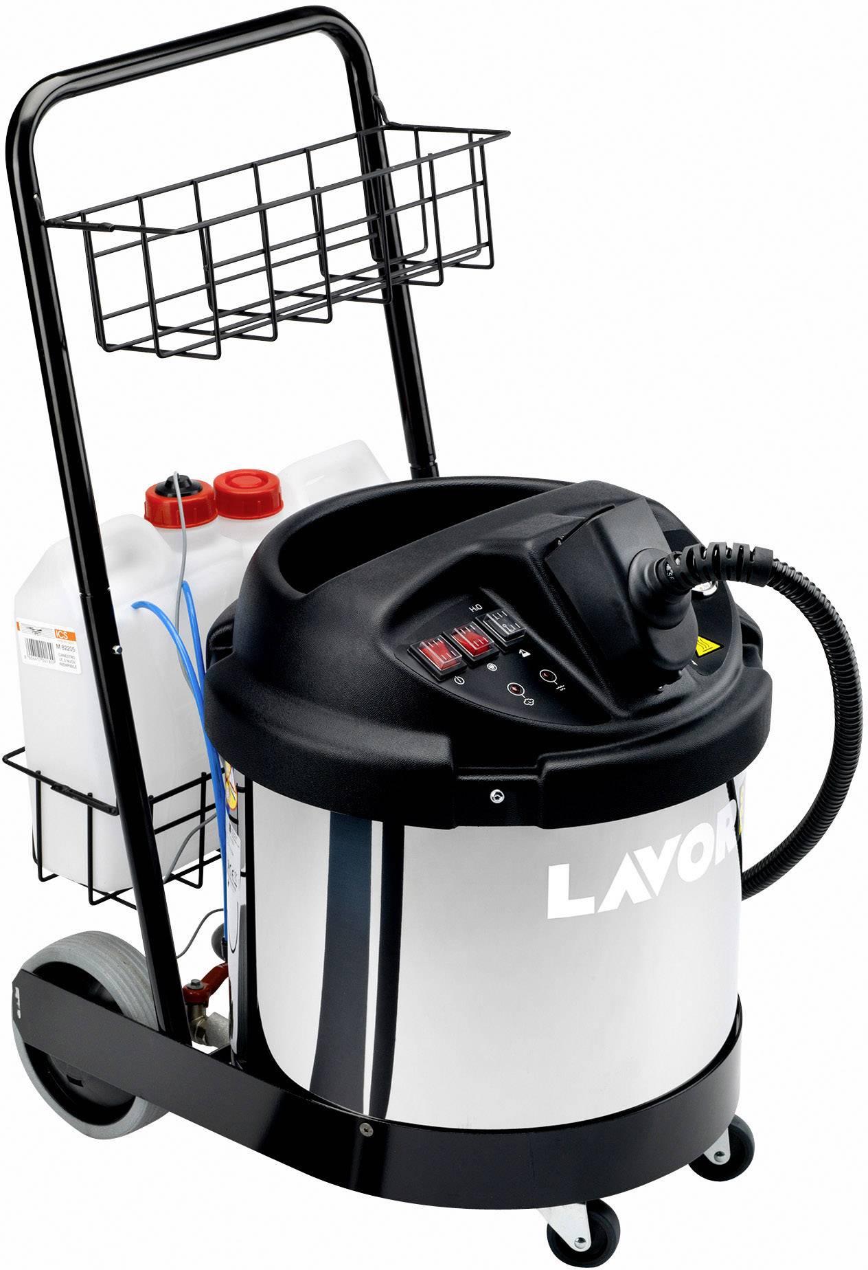 Parný čistič Lavor GV Katla 8.453.0001, 3300 W, čierna/strieborná
