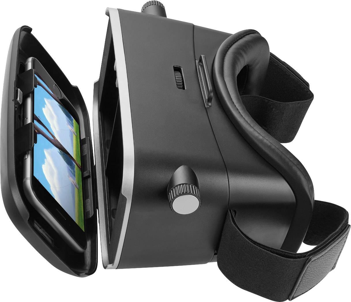 Okuliare pre virtuálnu realitu Renkforce RF-4388499 čierna