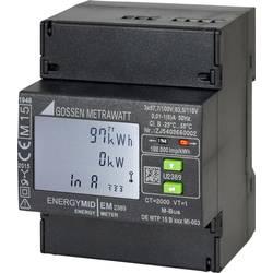 Třífázový elektroměr s připojením měniče digitální Úředně schválený: Ano Gossen Metrawatt U2389-V026