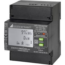 Třífázový elektroměr s připojením měniče digitální Úředně schválený: Ano Gossen Metrawatt U2389-V025
