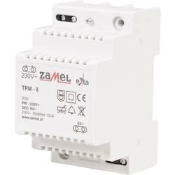 Zvonkový transformátor 8 V/AC 1.88 A Zamel TRM-8