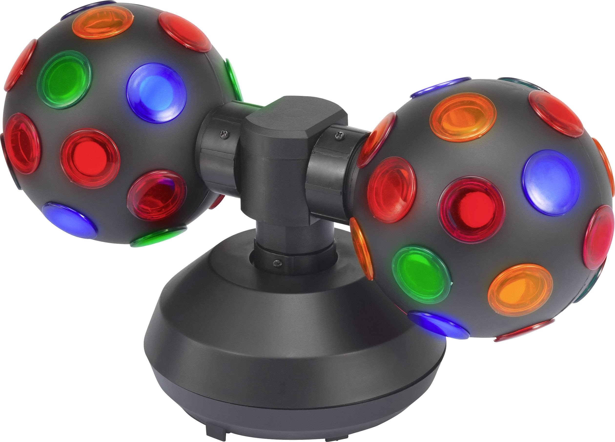 LED efektový reflektor Renkforce 1464695, počet LED: 2 x 1 W