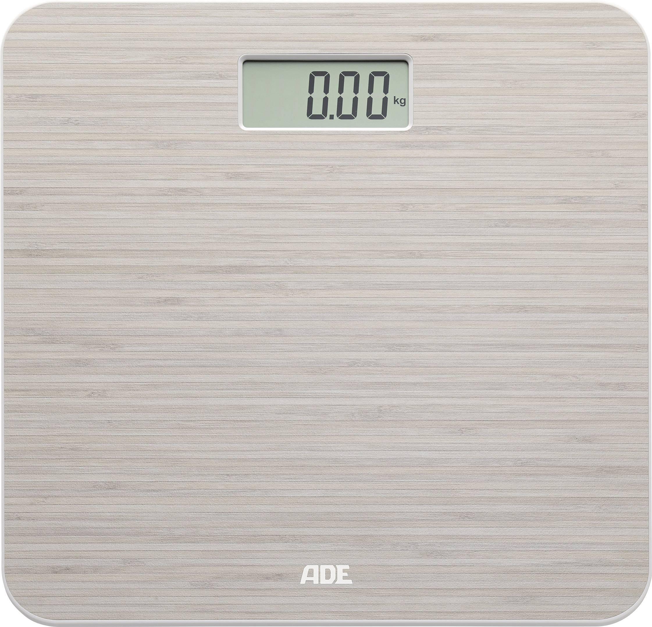 Digitálna osobná váha ADE BE 1505 Chloe, bambusová