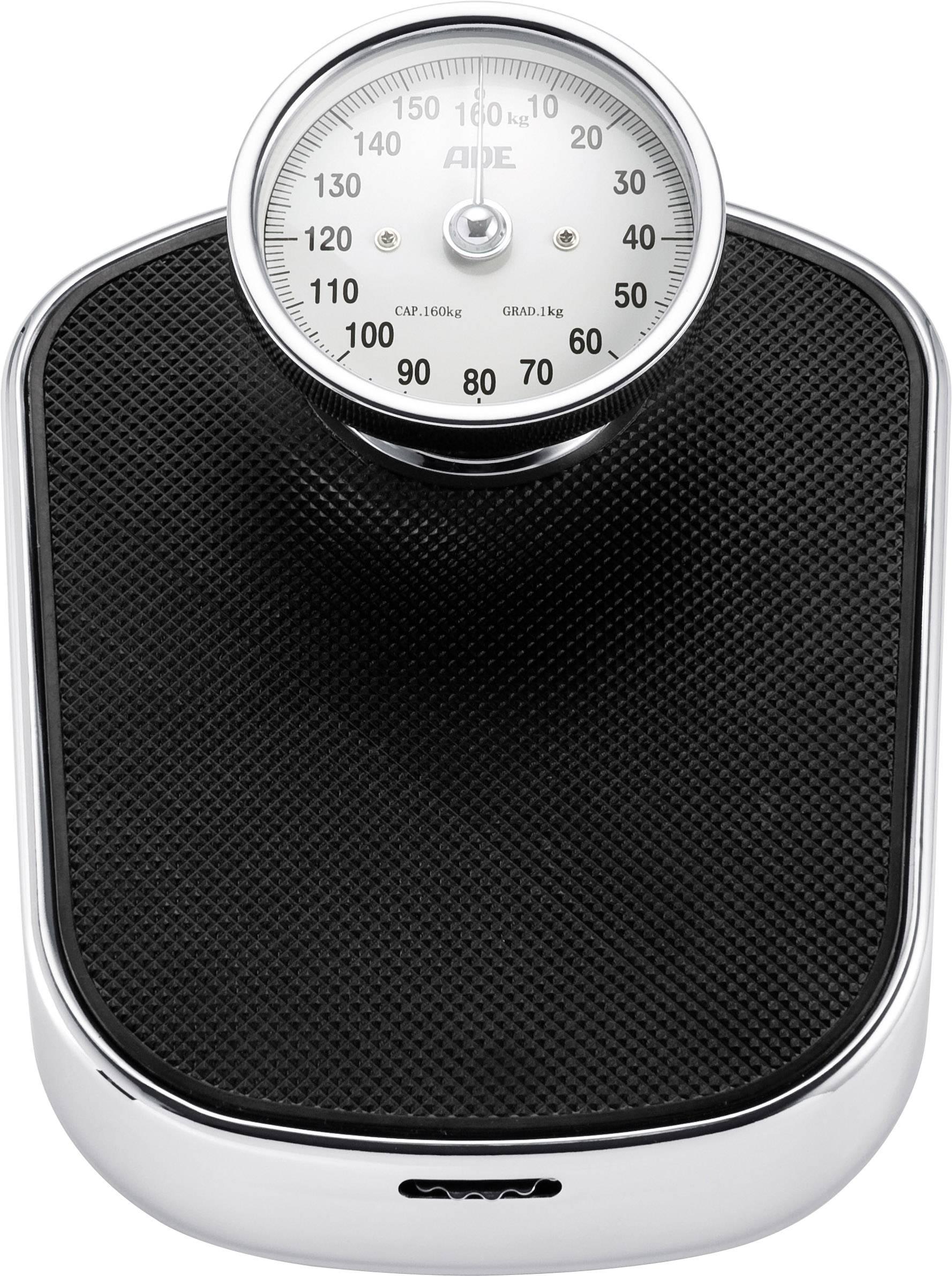 Analógová osobná váha ADE BM 702 Felicitas, čierna
