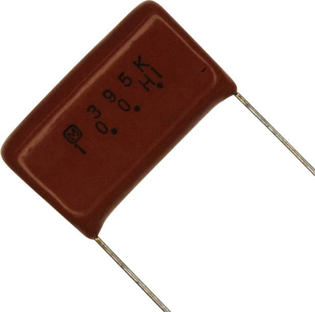 Panasonic ECQ-E1395JF radiálne vývody, 3.9 µF, 100 V/DC,5 %, 22.5 mm, (d x š) 26 mm x 7 mm, 1 ks