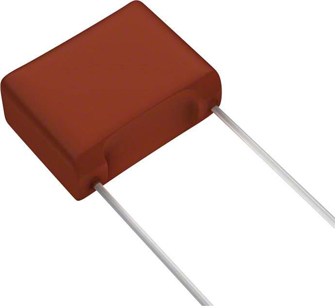 Fóliový kondenzátor Panasonic ECW-F2W824JA radiální, 0.82 µF, 450 V/DC,5 %, 15 mm, (d x š) 18.1 mm x 8.2 mm, 1 ks