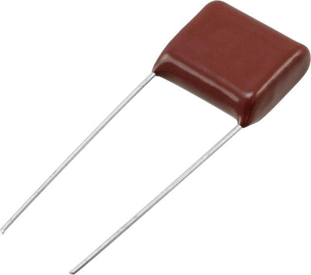 Panasonic ECQ-E1335JF radiálne vývody, 3.3 µF, 100 V/DC,5 %, 15 mm, (d x š) 18.5 mm x 8.5 mm, 1 ks