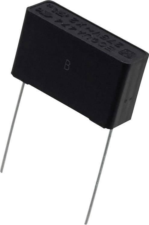 Fóliový kondenzátor Panasonic ECQ-UAAF474M radiální, 0.47 µF, 275 V/AC,20 %, 22.5 mm, (d x š) 26 mm x 8.5 mm, 1 ks