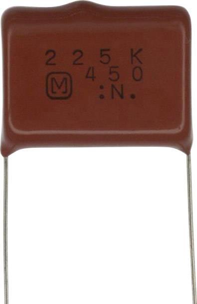 Fóliový kondenzátor Panasonic ECQ-E2W225KH radiální, 2.2 µF, 450 V/DC,10 %, 22.5 mm, (d x š) 25.7 mm x 9.4 mm, 1 ks