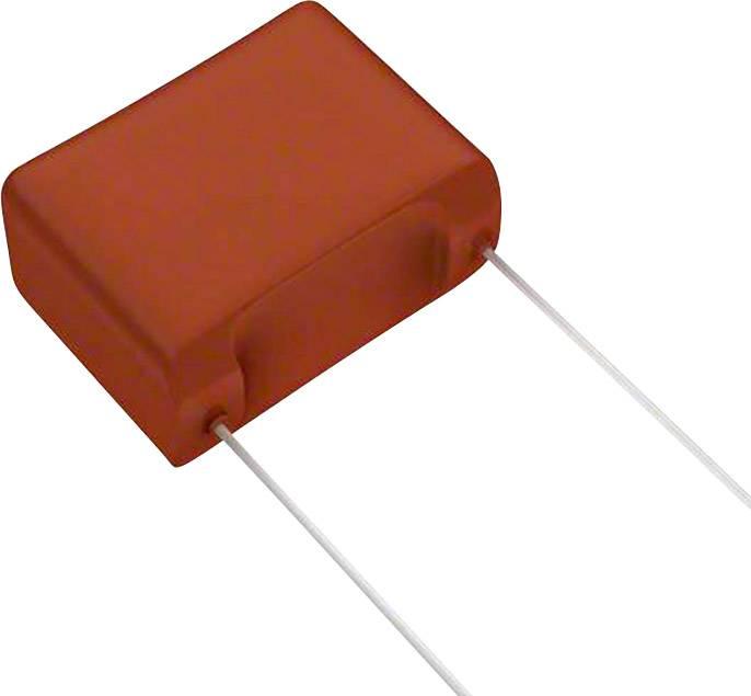 Fóliový kondenzátor Panasonic ECW-F2W475JA radiální, 4.7 µF, 450 V/DC,5 %, 22.5 mm, (d x š) 26.3 mm x 13.8 mm, 1 ks